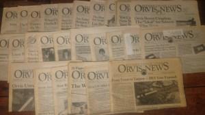 Orvis News print newspaper