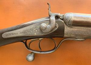 Incredible island-lock hammergun by James Purdey, London