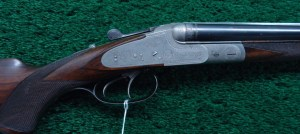 CASED J P SAUER DOUBLE RIFLE IN DESIRABLE CALIBER 9.3 X 72R