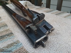 A. H. Fox/Savage Sterlingworth Deluxe Brush Model SxS Double Barrel American Shotgun