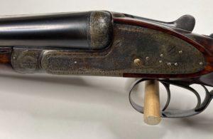 H.J. Hussey Imperial Sidelock Live Pigeon gun 12ga