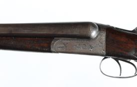Lot 242: Charles Osborne Boxlock SxS Shotgun 12ga