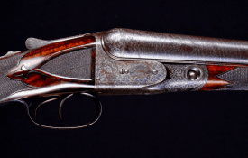 """The finest Parker Bros. AH 10ga extant! Near mint all original lightweight gun made on a #2 Frame with orig 30"""" barrels - appears test fired only"""