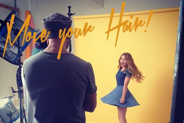 Behind the scenes of my L'Oréal Shoot #MOVEYOURHAIR