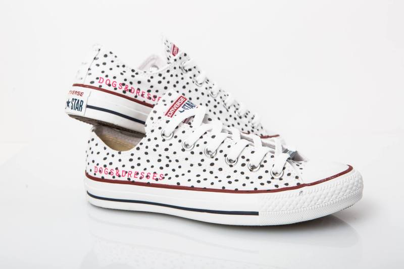 Dogs and Dresses x Unickz Converse ALl Star custom made