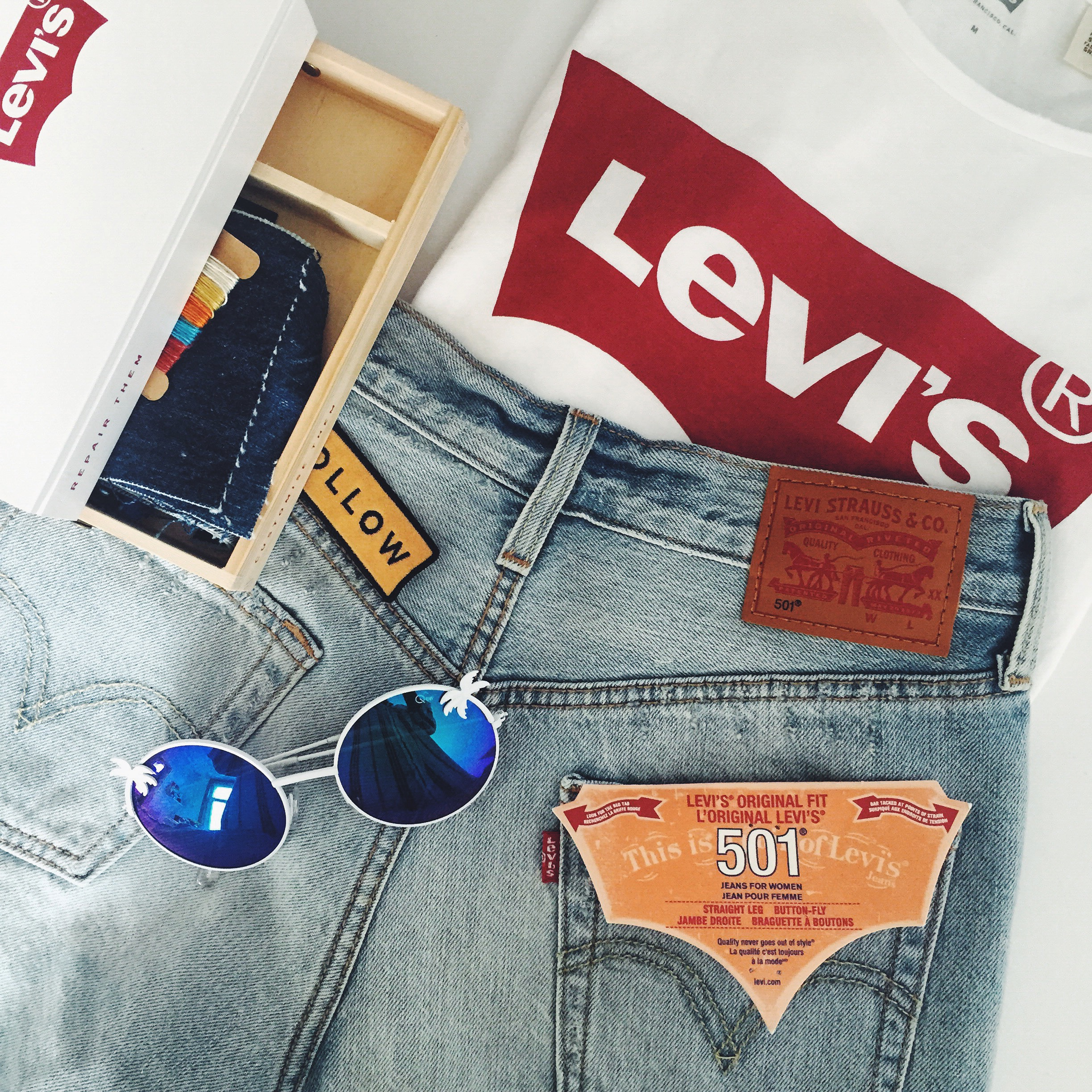 Dogs and Dresses x Levi's Tailor Shop