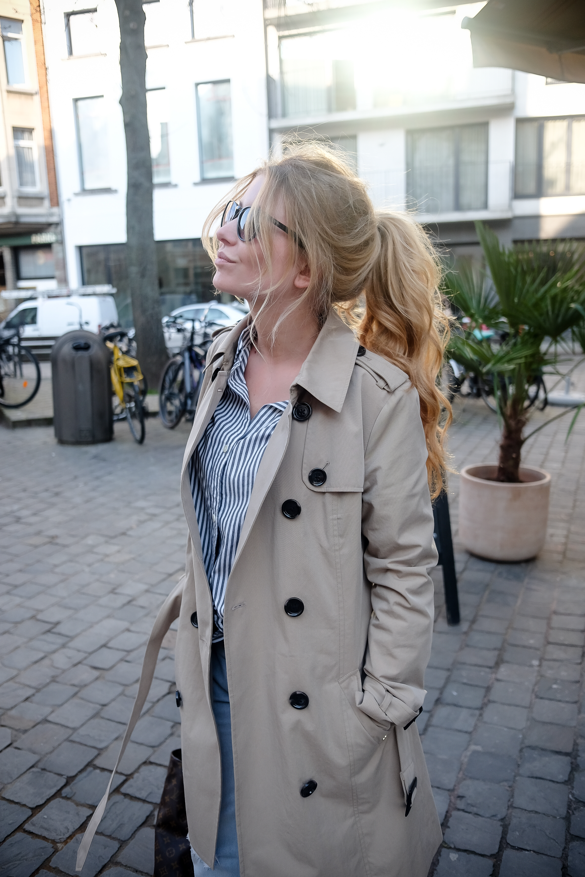 Trench Coat and City Love