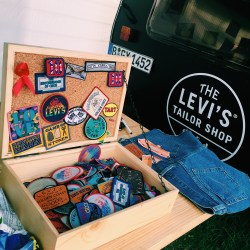 Levis Tailor Shop at Pukkelpop 2016