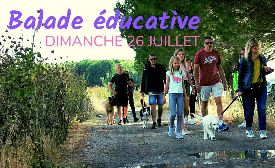 Balade éducative 26 Juillet