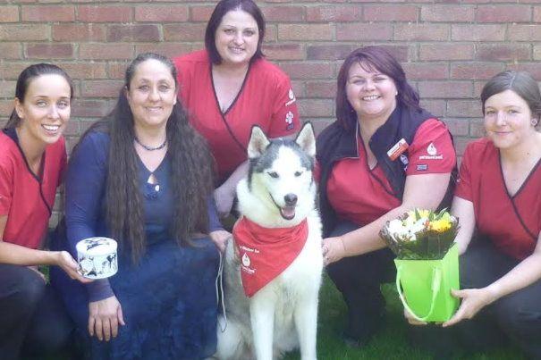 Pet Blood Bank UK first Bramble Craddock award winner