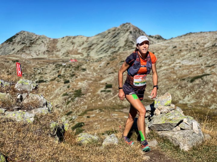 Pirin Ultra Skyraceで優勝したラグナ・デバッツ。Photo courtesy of ©MRSWS / Albert Jorquera