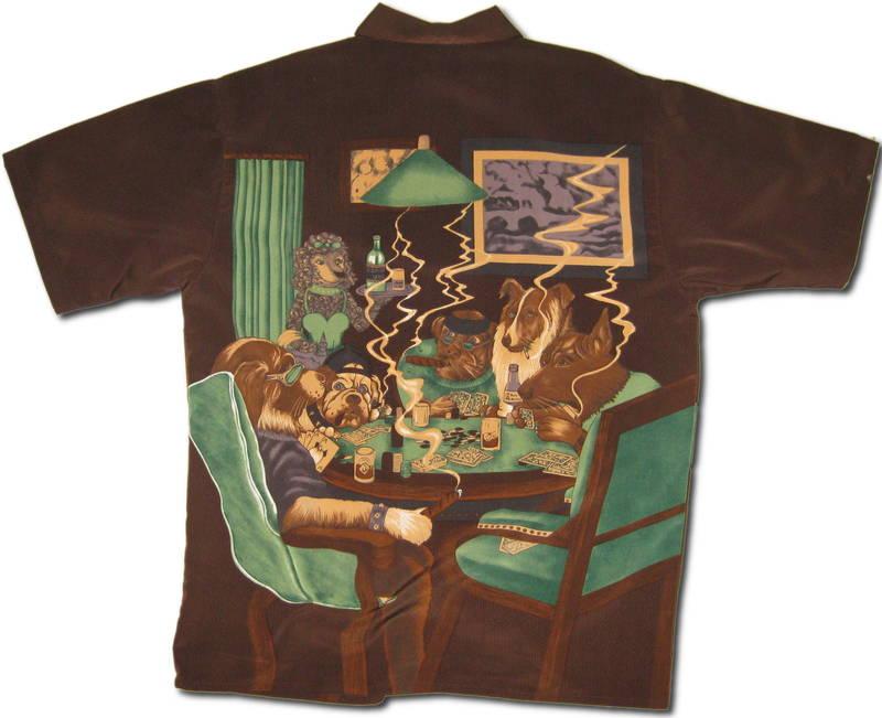 Poker Dog Clothing  DogsPlayingPokerorg
