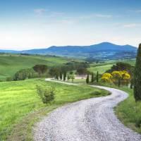 Sulla Via Francigena in Toscana con il cane