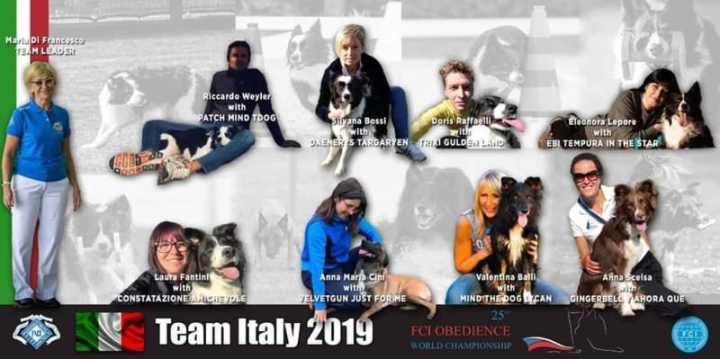 Nazionale italiana di Obedience