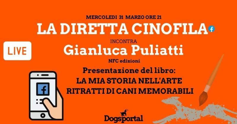 La mia storia nell'arte ritratti di cani memorabili: la diretta cinofila su Dogsportal.it