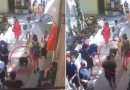 PET PLAY a Positano: un giovane a quattro zampe con collare e guinzaglio