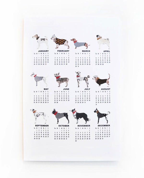 Our 15 Favorite Dog Calendars for 2014