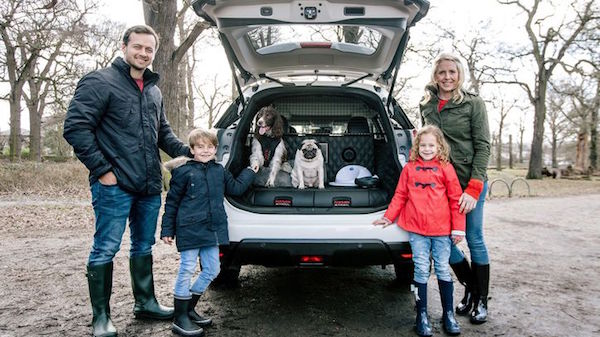 The Nissan X-Trail for Dogs. Must. Have. (Photo courtesy Nissan)