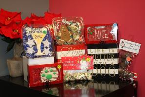 Holiday treats prepared by Knick-Knack Paddy-Whack