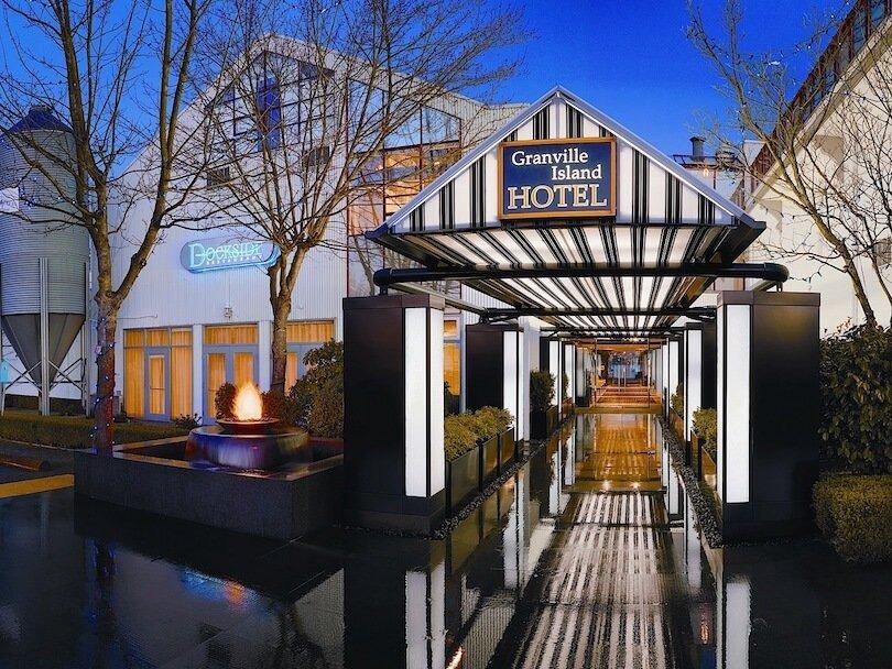 Pet-Friendly Granville Island Hotel