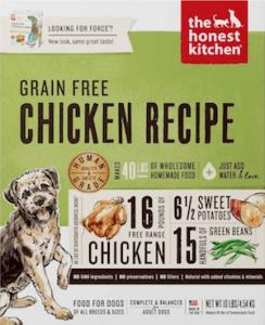 Honest Kitchen Grain Free Dog Food
