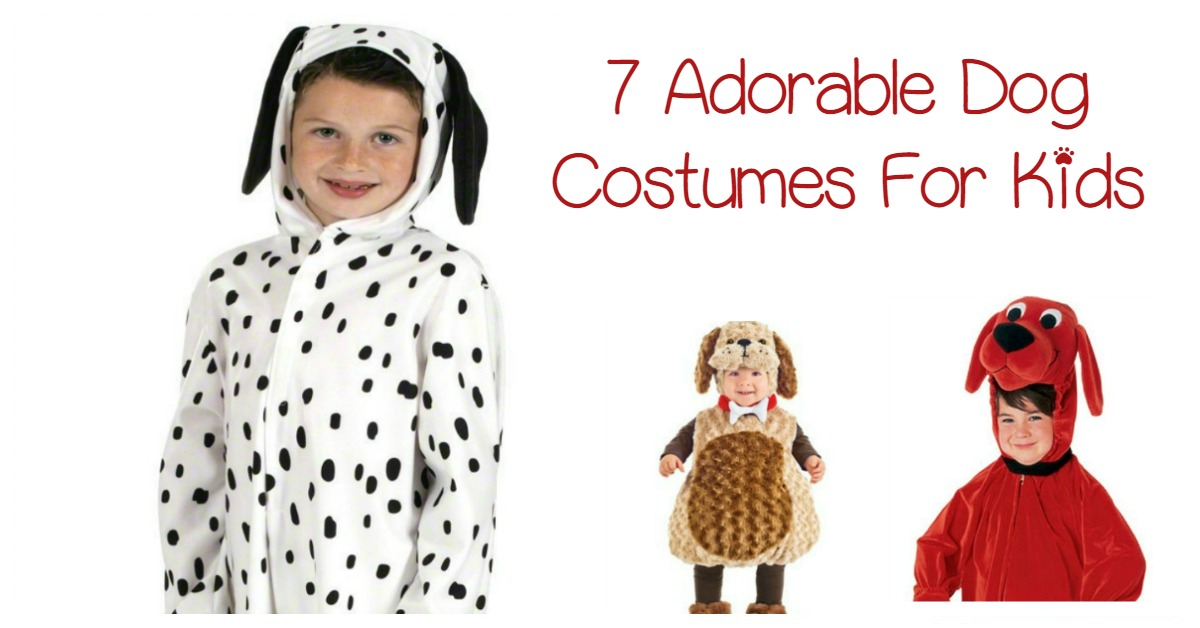 7 Adorable Dog Costumes For Kids That They Will Love