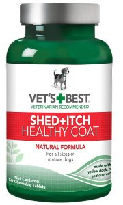 Vet's Best Healthy Coat Shed and Itch Relief