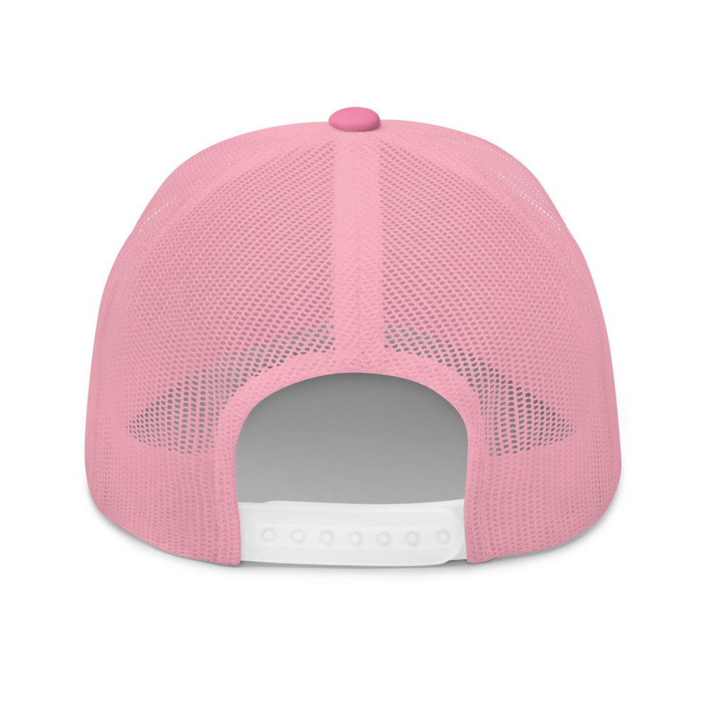 DOGZAR® French Bulldog Mesh Back Hat - Pink