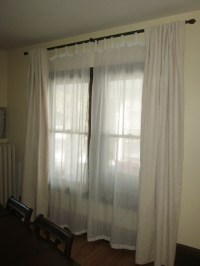 Dining Room Drapes | D'oh!-I-Y