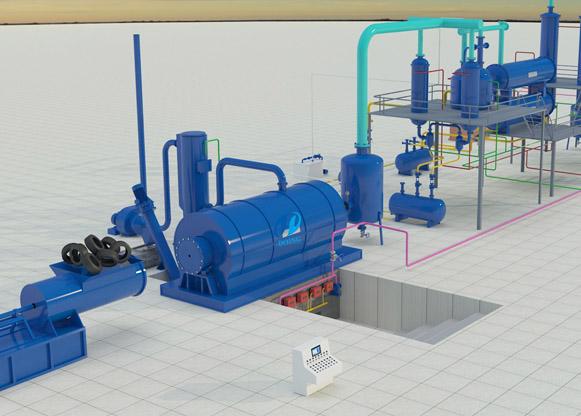 manufacturers Tire pyrolysis plant,pyrolysis plant,pyrolysis oil plant,pyrolysis tyre/plastic to oil