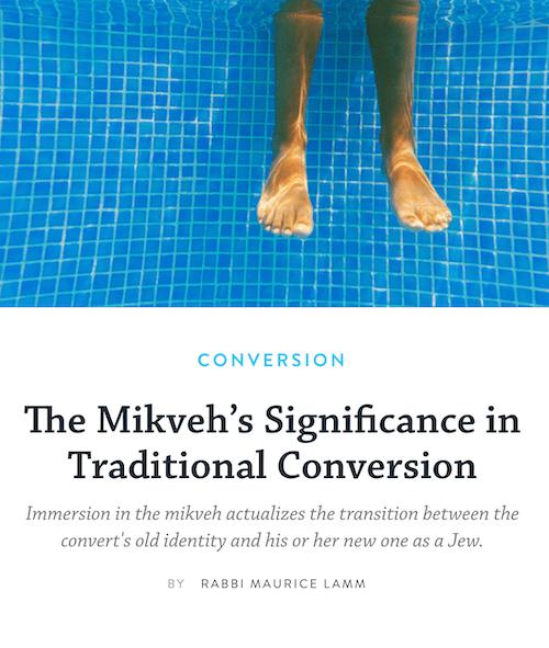 028: Flashback Friday: Mikvah orientation, feeling underwater, and halfway mark