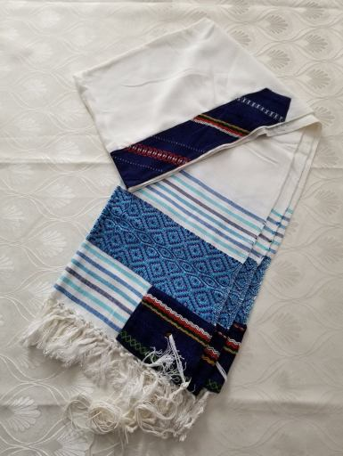 Awesome tallit on Etsy