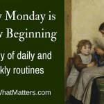 Every Monday is a New Beginning