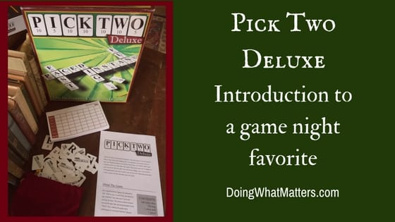 Pick Two Deluxe game review.