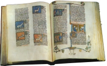 Illuminated manuscripts are created by copying.