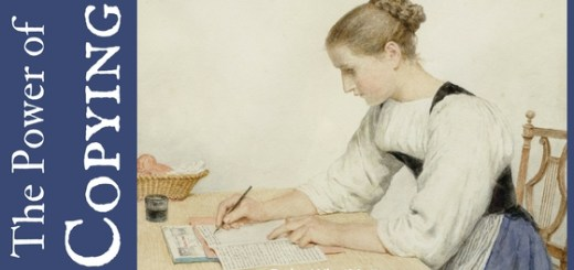 Copying a text is one way to absorb great ideas and improve writing skills.
