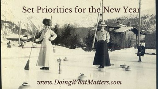 Set priorities for the new year by Janice Campbell