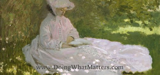 Springtime by Claude Monet, 1872