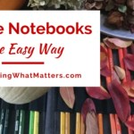 Nature Notebooks the Easy Way