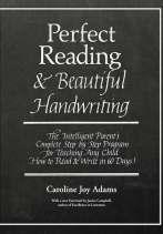 Perfect Reading, Beautiful Handwriting by Caroline Joy Adams