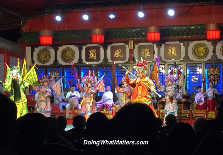 Chinese opera.