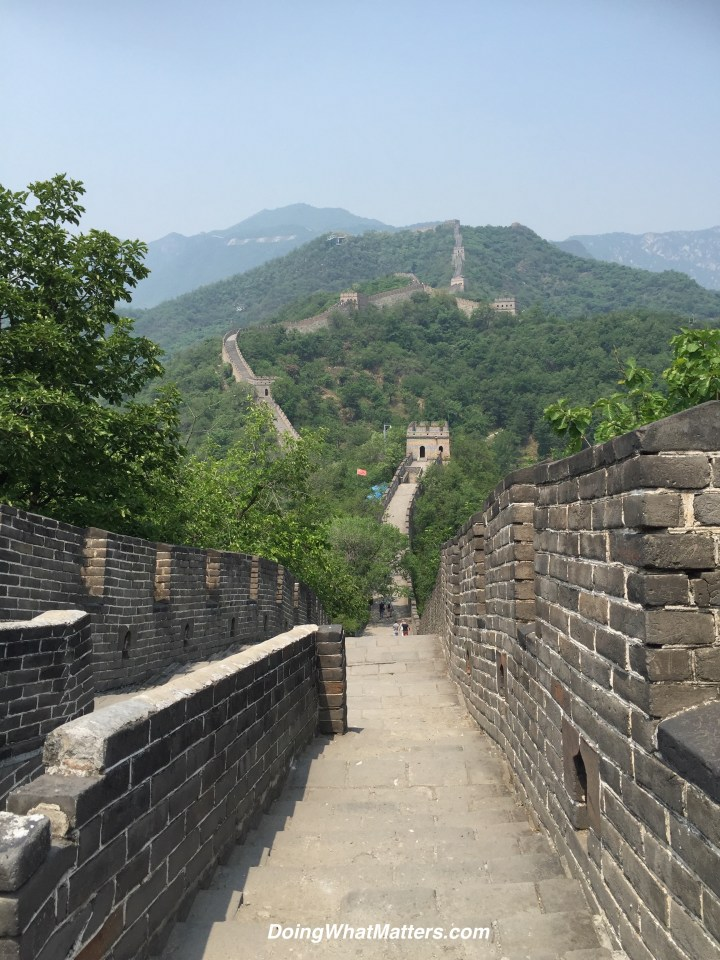 The Great Wall of China, Mutianyu section.