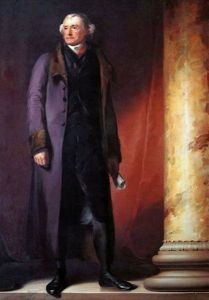 Thomas Jefferson portrait by Thomas Sully, 1821. Jefferson had a forward-thinking perspective on virtue, education, and the electorate.