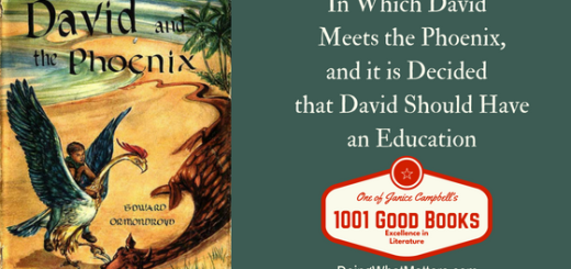 David and the Phoenix by Edward Ormondroyd is a middle-grade fantasy tale. One of Janice Campbell's 1001 Good Books.