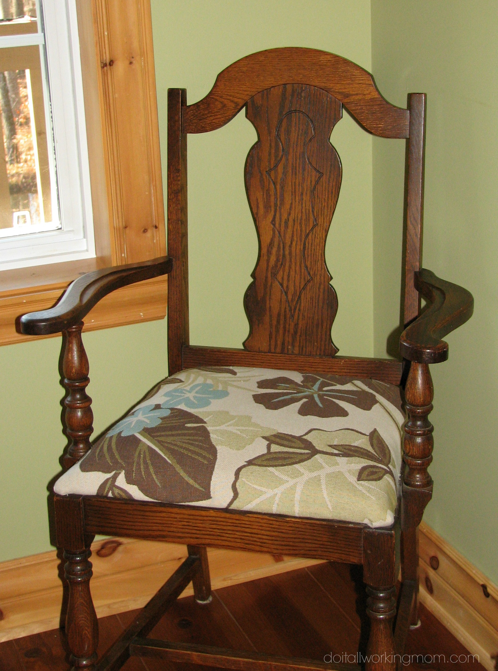 How to Reupholster Chairs Using Old Cushions  Do It All