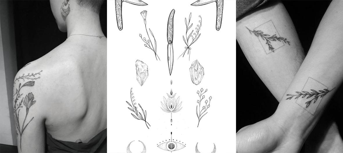 Line Drawing Simple Star Wars Tattoos