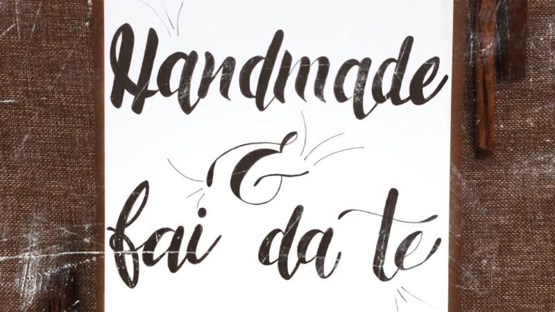 Vuoi sapere la differenza tra handmade e fai da te? Ecco 2 chiari esempi