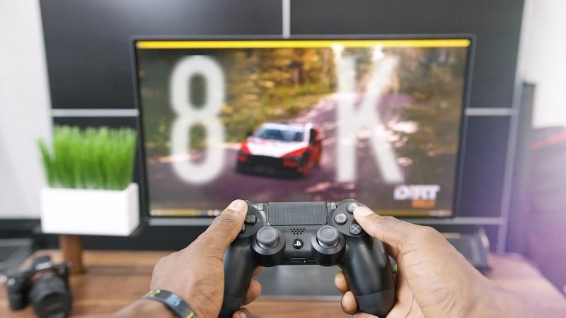 Curiosi di vedere il vostro videogame girare in 8K?