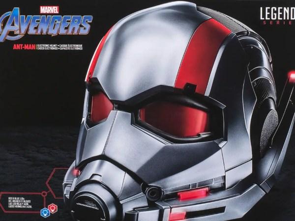 Il casco di Ant-Man da indossare!