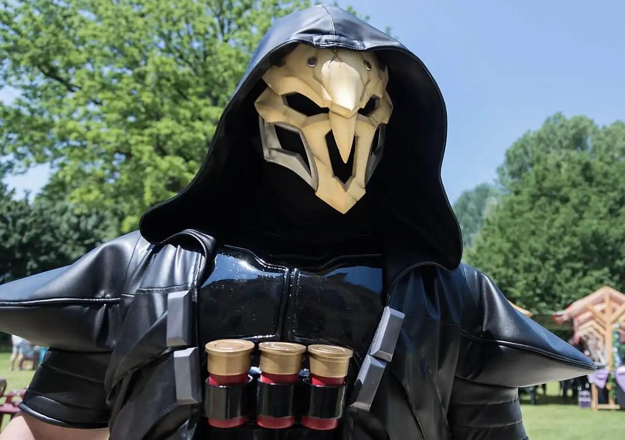 Lo spietato Reaper di Overwatch, interpretato da Davide Terzi